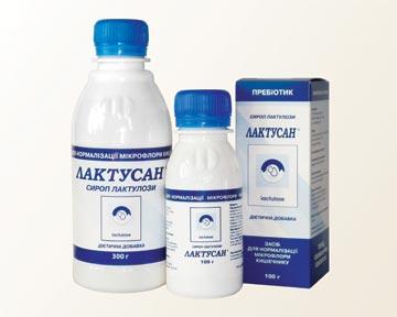 Лактусан - пребиотик для нормализации работы ЖКТ